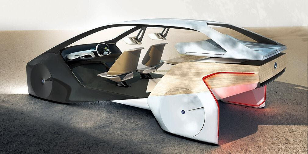 """Картинки по запросу """"Автомобиль из 2030-го: дисплеи вместо стекол и ни одной кнопки"""""""