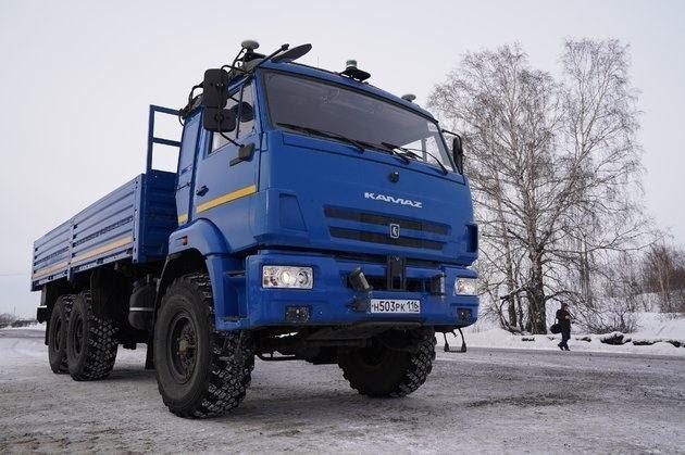 """Картинки по запросу """"беспилотный грузовик КамАЗ одиссей"""""""