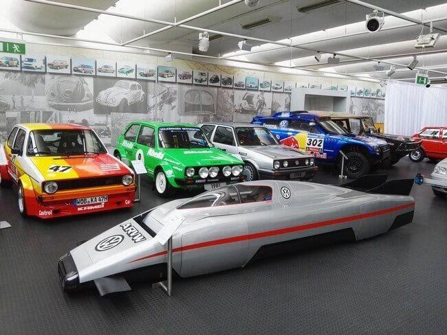Гоночный Volkswagen в музее