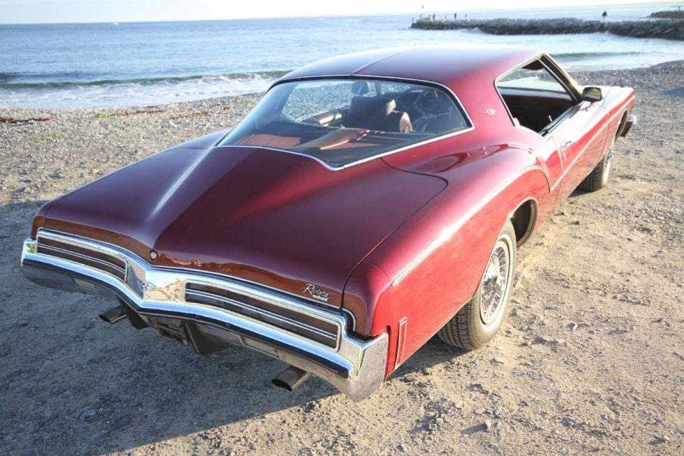 "3. Buick Riviera ""Boattail"" (1973-1973)."