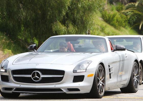 Арнольд Шварценеггер купил кабриолет Mercedes - Авто - Автоновости ...