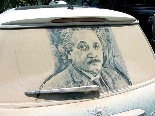 Рисунки на грязных машинах, фото № 9