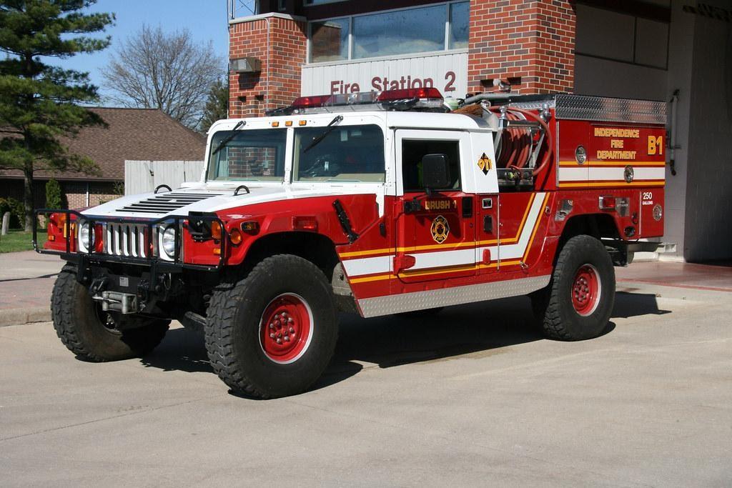 Hummer B1 Brush Truck: Independence Township Fire Dept   Flickr
