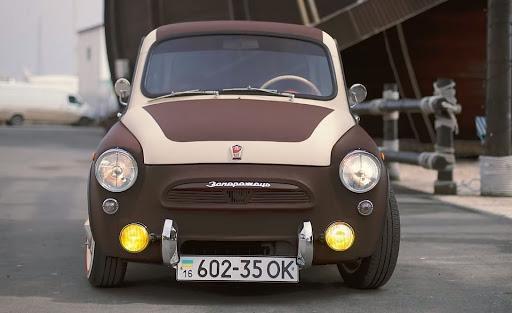 ЗАЗ-965А на шасси микроавтомобиля Smart получил очень оригинальную ...