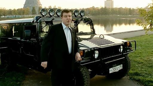 Тюнинг Hummer H1 из фильма «Брат 2» в защитном покрытие Line-X