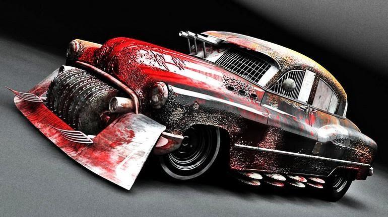 5 жутких автомобилей для празднования Хеллоуина | 32CARS.RU