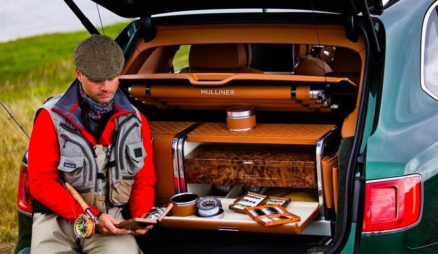 В Bentley создали автомобиль для люксовой рыбалки