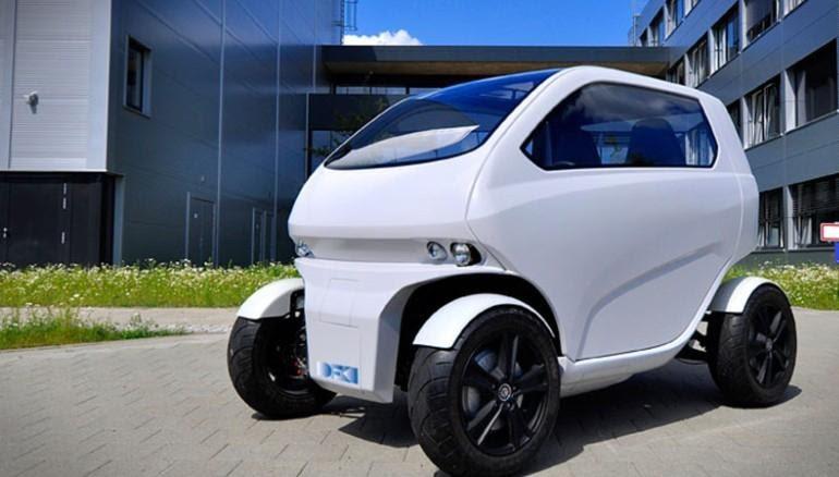 EO Smart Connecting Car 2: крошечный автомобиль, двигающийся боком