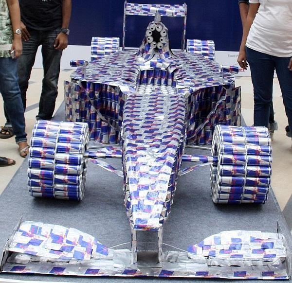 ТОП-7 действующих самодельных автомобилей из необычных материалов