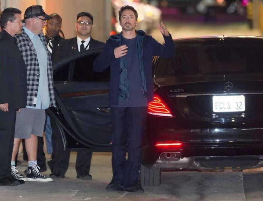 Машина Роберта Дауни младшего - на чем ездит актер
