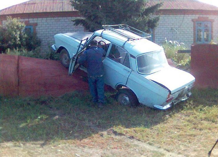 Приколы на дорогах (25 фото) | Екабу.ру - развлекательный портал