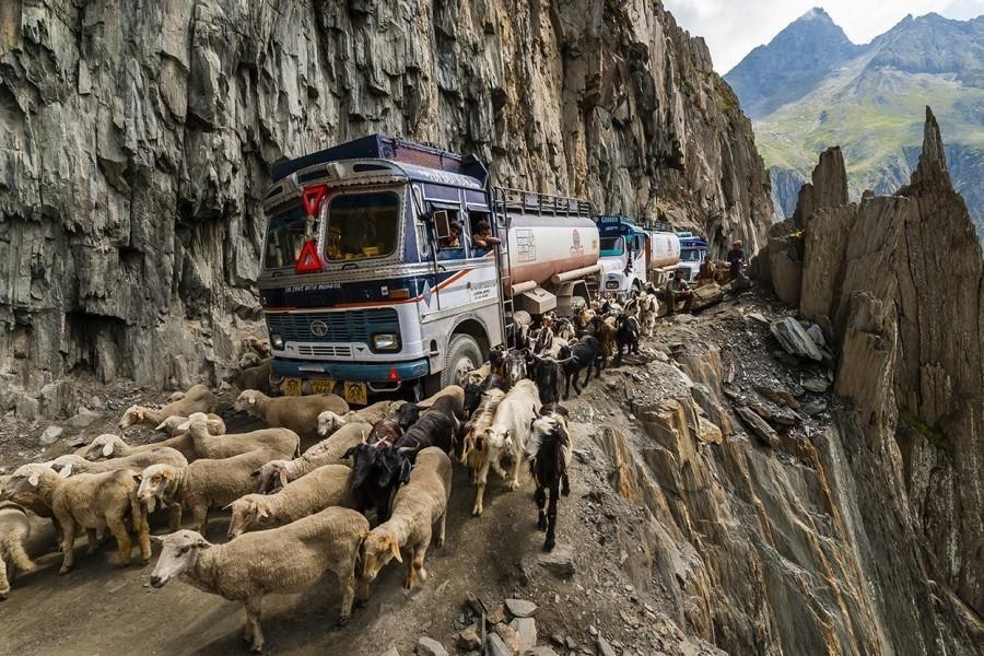 Зоджи-Ла, Индия - 10 самых опасных дорог в мире
