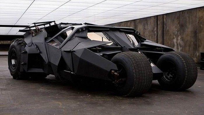 10 самых необычных самодельных автомобилей   Бэтмобиль, Автомобиль ...