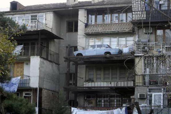 Автомобиль на балконе: masterok — LiveJournal