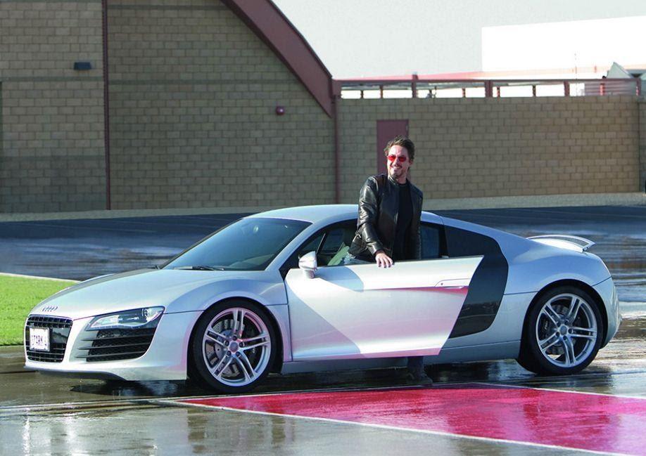 """Audi R8 и """"Железный человек"""""""