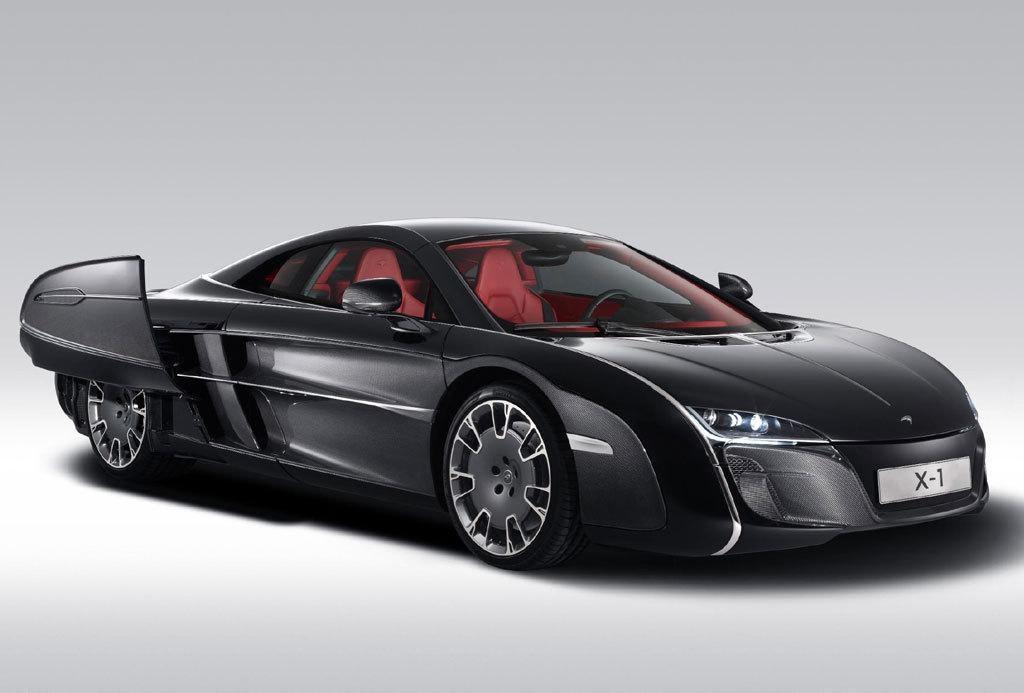 Представлен уникальный McLaren X1 - Автоцентр.ua