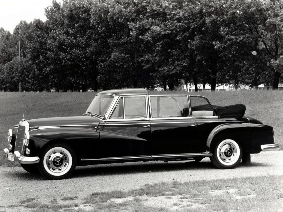 Mercedes-Benz 300d Pullman Landaulet 1960 года выпуска. Фото 1 ...