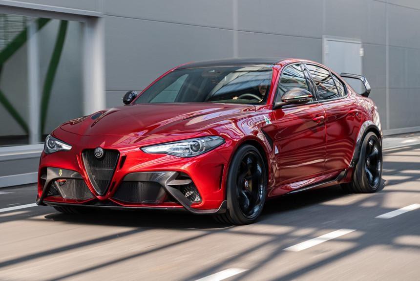 Представлен экстремальный седан Alfa Romeo Giulia GTA — Авторевю