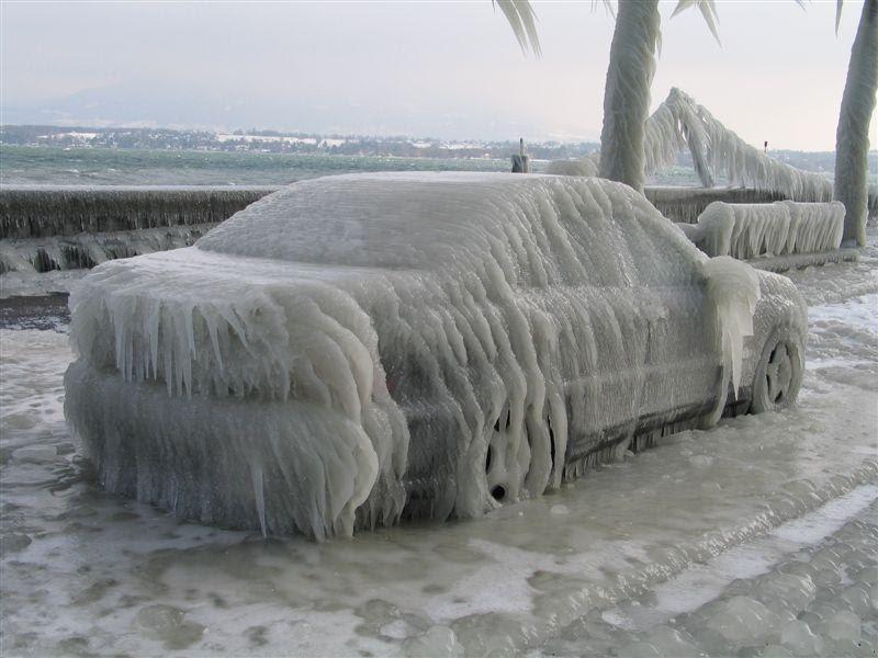 Машины во льду - ЯПлакалъ