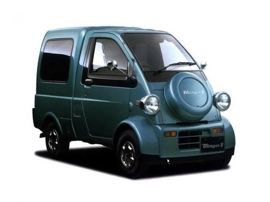 Daihatsu Midget II 1996 года выпуска. Фото 1. VERcity