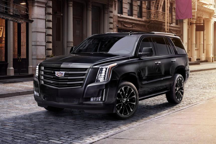 У внедорожника Cadillac Escalade появилась версия Sport Edition ...