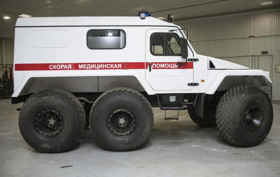 Трэкол-39294 - Самые необычные кареты скорой помощи в мире