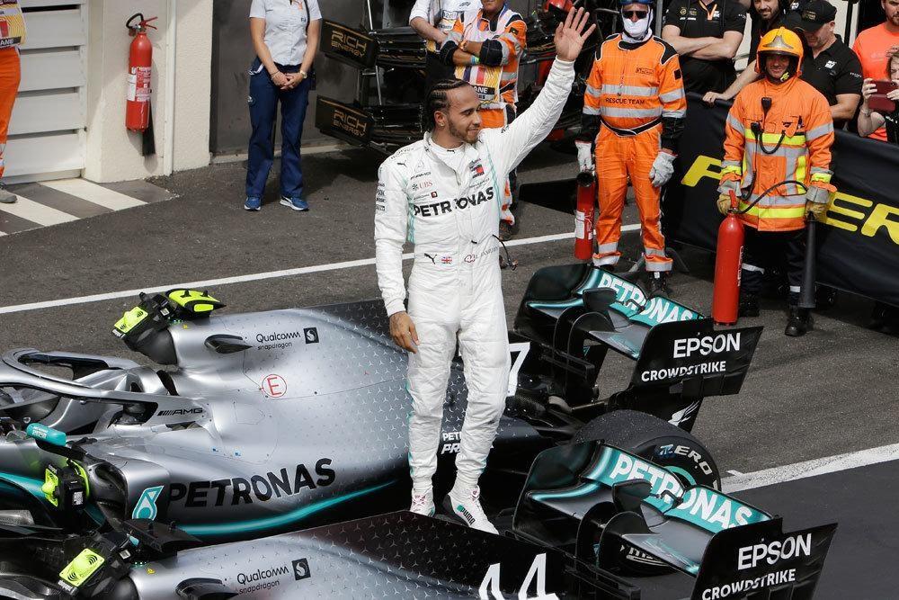 """Хэмилтон выиграл Гран-при Франции """"Формулы-1"""", Квят - 14-й ..."""
