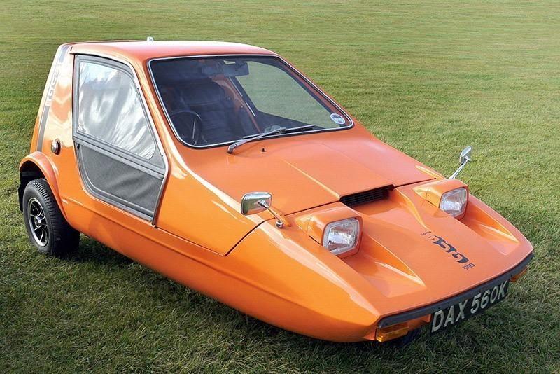 Bong Bug 700E - Самые удивительные автомобили, какие изобрело