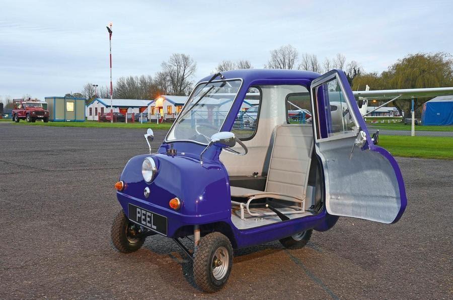 Самый маленький автомобиль в мире Peel P50 все еще выпускают ...