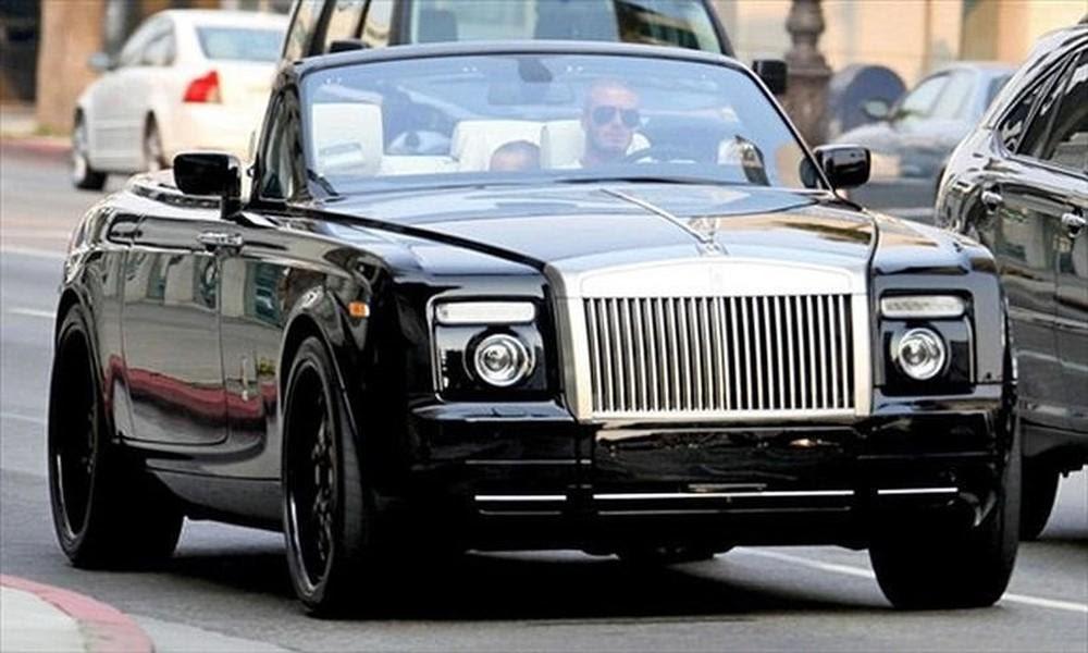 Choáng' trước bộ sưu tập toàn siêu xe của David Beckham - Báo Infonet