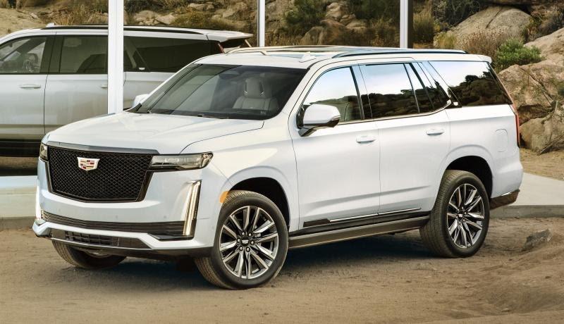 Новый Cadillac Escalade: независимая подвеска, органические ...