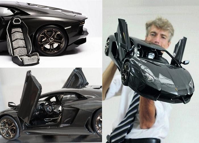 Самая дорогая в мире копия Lamborghini Aventador. Игрушечная ...