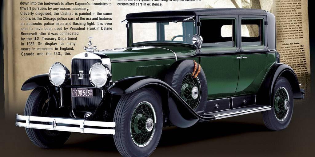 Бронированный Cadillac Аль Капоне выставлен на продажу | 32CARS.RU