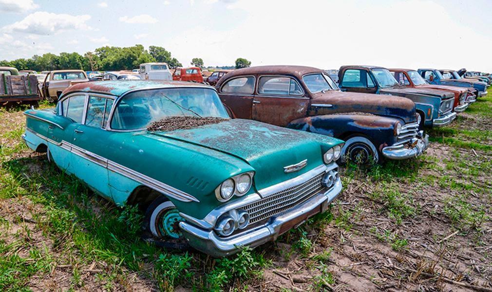Всеми забытые: редкие автомобили, которые находят в старых гаражах ...