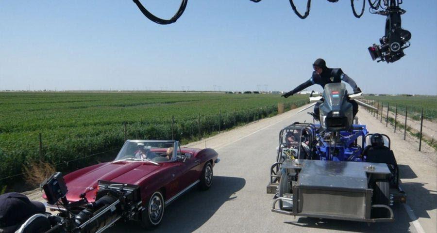 Самые странные машины для съёмки погонь