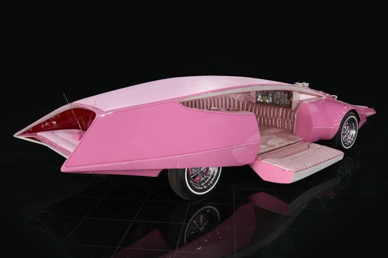 El popular Panthermobile recién restaurado por Galpin Auto Sports ...