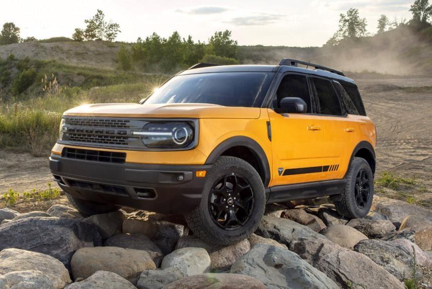 Кроссовер Ford Bronco Sport составил компанию рамному вездеходу ...
