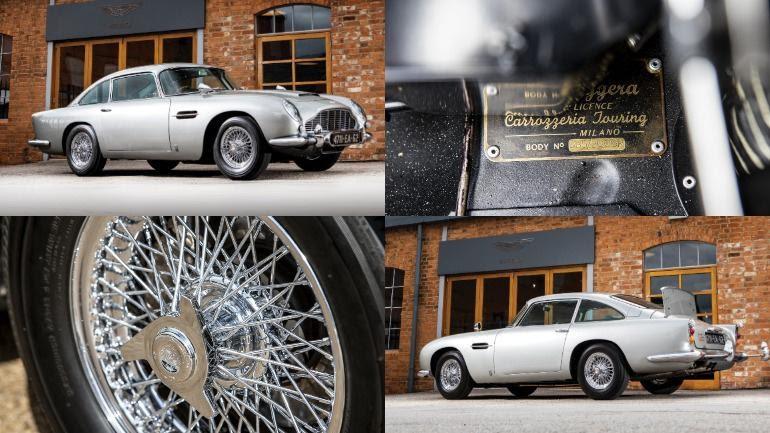 Aston Martin DB5 продан на аукционе в США за $6,4 млн - ИА REGNUM