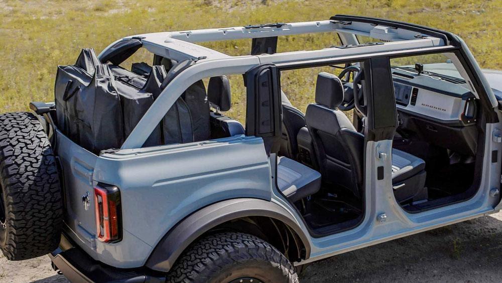 Ford официально представил семейство внедорожников Bronco | АВТОМИР