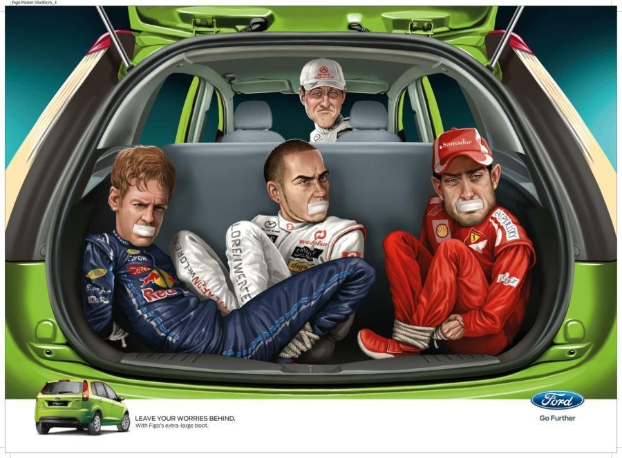 Неординарная реклама Ford Figo в Индии - Новости - Fiesta Club