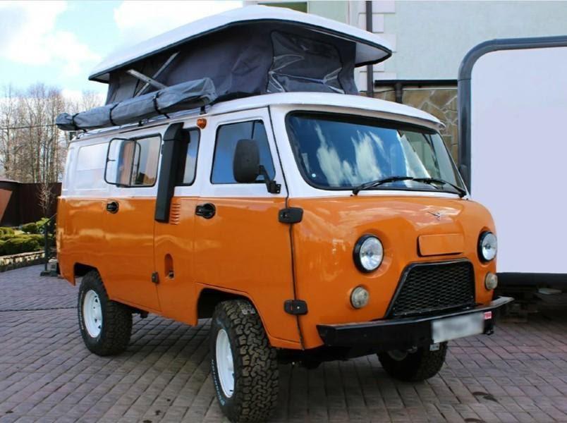Германия заказала автодома на базе УАЗ «Буханки» | | iGrader.ru