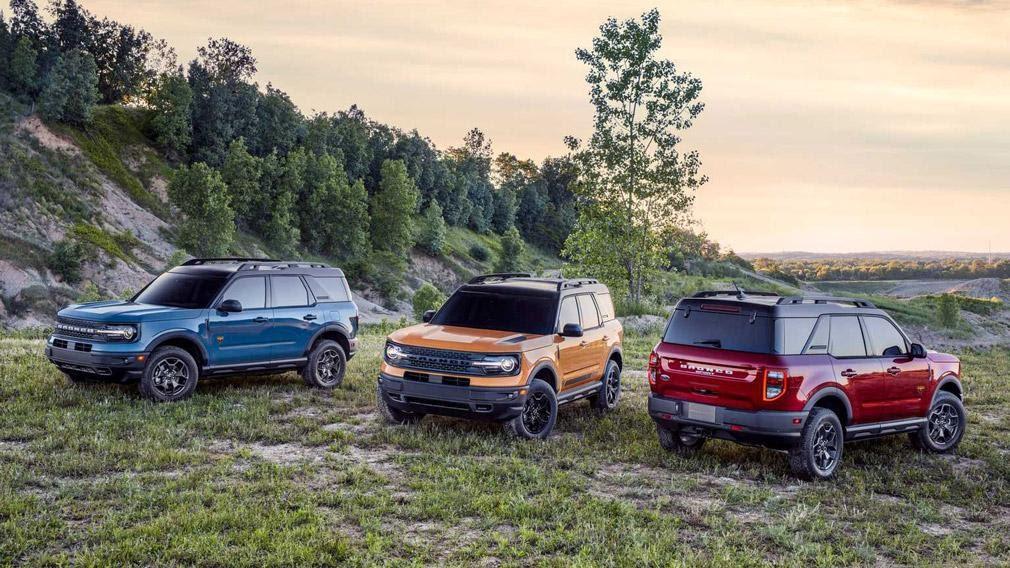 Ford официально представил новый внедорожник Ford Bronco Sport ...