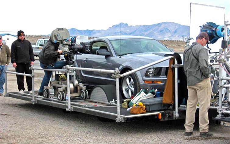 Какие автомобили нужны на съемочной площадке