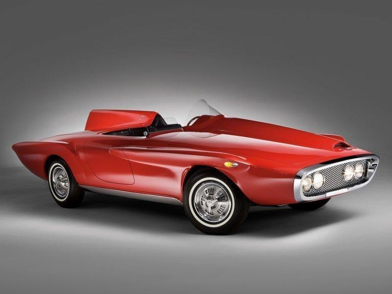 Красота или уродство? Plymouth Asimmetrica Roadster 1961 года