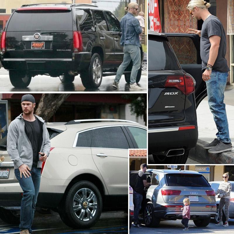 """На каких автомобилях передвигаются актеры из """"Мстителей""""?"""