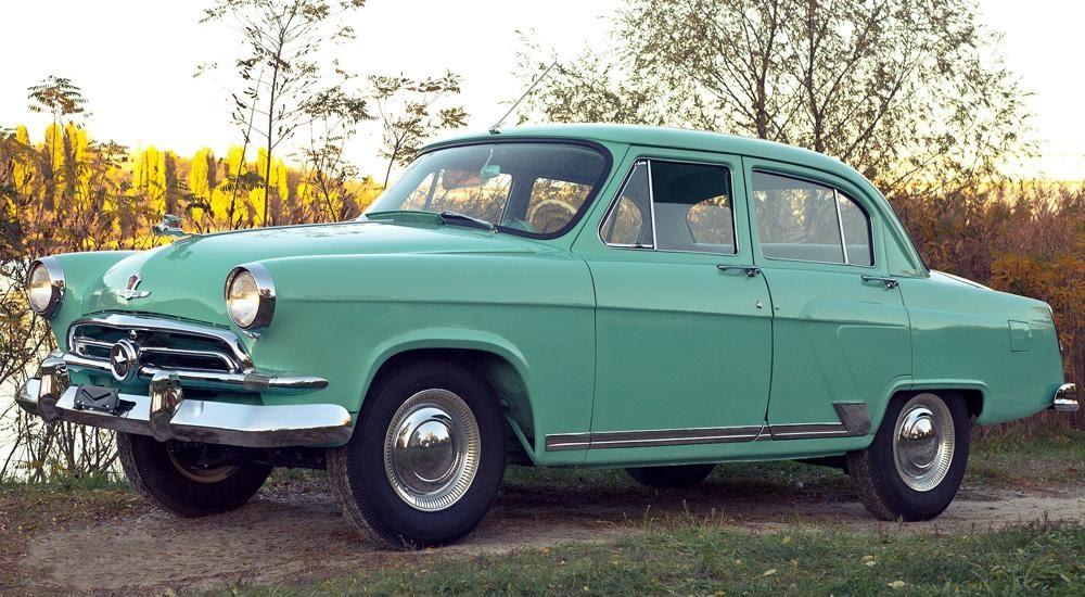 ГАЗ-21 Волга (1956-1970) характеристики и цена, фотографии и обзор