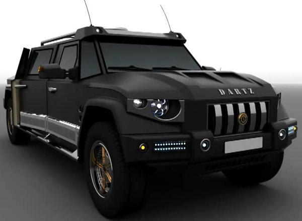 Dartz Prombron Black Dragon – эксклюзив для Китая » Автомобили и ...