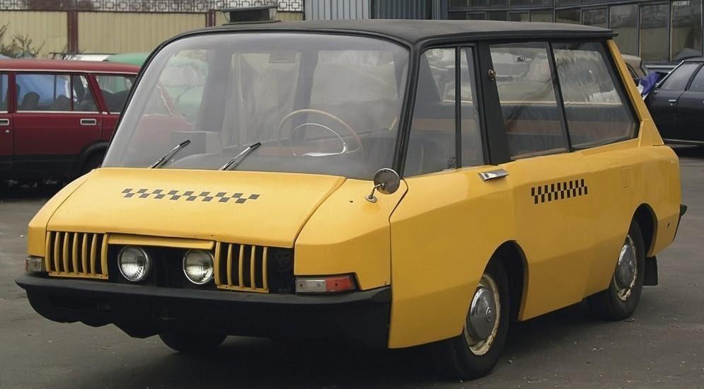 Прототип советского такси | Как это сделано
