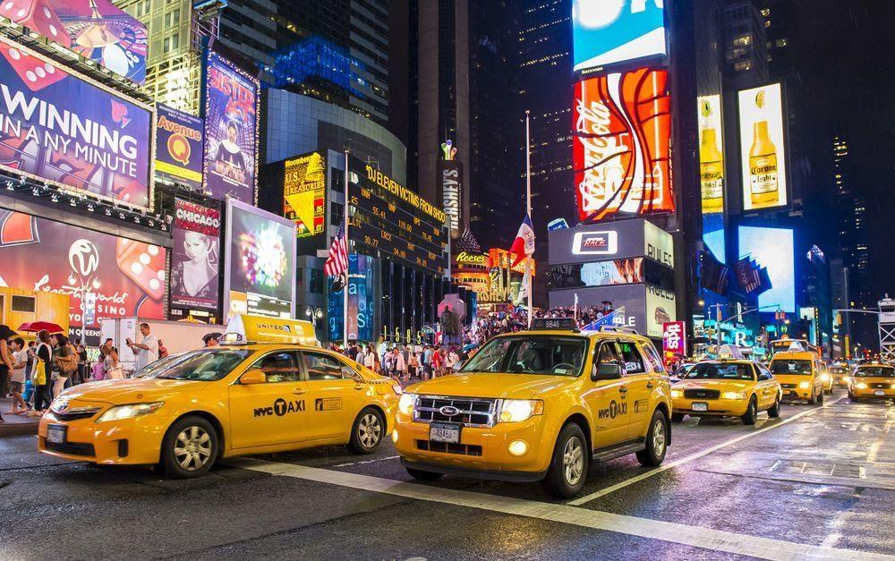 Такси Нью-Йорка (США) - автор фото Валик Дух